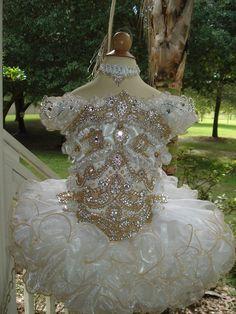 National Glitz Pageant Dress Custom Order by Nana Marie Designs. $1,175.00, via Etsy.