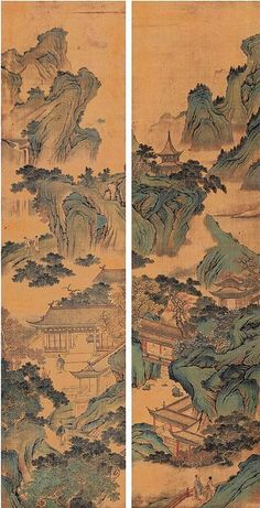 明-仇英-山水7 | by China Online Museum - Chinese Art Galleries