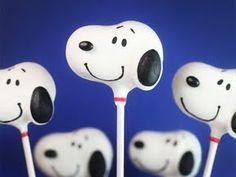 Snoopy Cake Pops