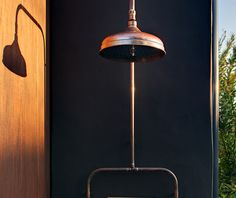the murray rose copper shower solid copper made for outdoors beautiful but
