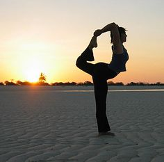Do yoga because it makes you happy, flexible, healthy and grounded