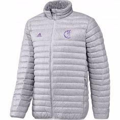 adidas Men's Real Madrid Light Down Soccer Jacket