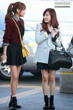 SNSD Tiffany Airport Fashion | Official Korean Fashion