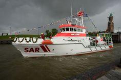 Große Schiffsparade und Taufe eines Seenotrettungskreuzers | DGzRS Die Seenotretter