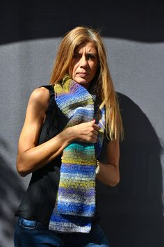 Scarf or sleeve by SophieCRO on Etsy