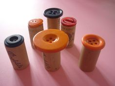 Button-stamps