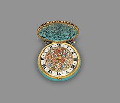 The Great Ruby Watch Maker: Watchmaker: Nicolaus Rugendas the Younger (German, 1619–1694/5) , master 1662 Date: ca. 1670 Culture: German, Augsburg Medium: Case and dial: painted and raised enamel on gold, set with gemstones (rubies) and with a single hand; Movement: gilded brass and partly blued steel