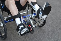 The maxon flat motor keeps the patient's legs in move. © 2012 IRPT - For paraplegic people, rehabilitation is frequently a long process. At the Bern University of Applied Sciences, many years of research has led to the development of a recumbent trike with electrical stimulation to improve the rehabilitation process. An electric motor is needed to support the stimulation at the beginning. maxon drives keeps the legs of the patient in motion.