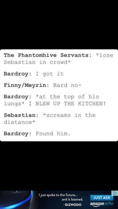 It works every time.......damn you bard I believe you because you do it so often.