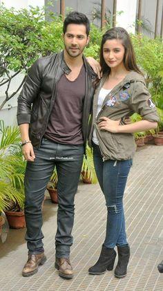 Alia Bhatt And Varun Dhawn at kolkatta