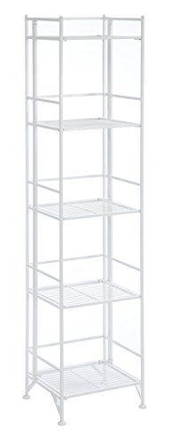 Convenience Concepts Designs2Go X-Tra Storage 5-Tier Folding Metal Shelf, White Convenience Concepts http://www.amazon.com/dp/B01B65C4KG/ref=cm_sw_r_pi_dp_o3Gexb1VAY0QE