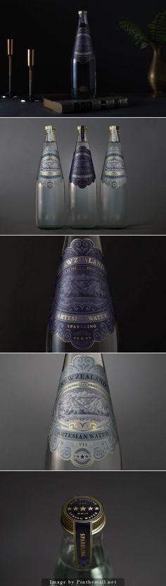 Beautiful packaging for New Zealand Artesian Water