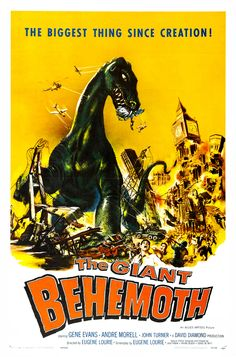 Albert Kallis - The Giant Behemoth (Allied Artists, 1959) One Sheet