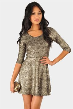 Glitter Tee Shirt Dress - Want this in hot pink, black glitter leggings and the hot pink high heals!!!