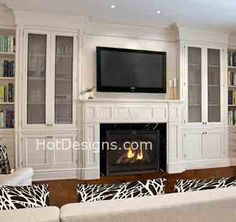 Traditional, Contemporary, Brick and Stone Fireplace Designs