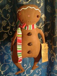 Primitive-Folk-Art-Christmas-Gingerbread-man-door-greeter-wall-hanger