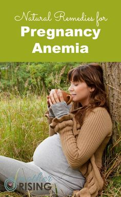 Pregnancy anemia is the worst! Try these tasty natural remedies for pregnancy anemia.