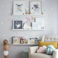 Kids Clothing Wall decal nursery baby wall decal children Kids ClothingSource : Wand Aufkleber Kinderzimmer Baby Wandtattoo Kinder by Baby Bedroom, Baby Room Decor, Nursery Room, Bedroom Brown, Ikea Nursery, Book Themed Nursery, Room Baby, Nursery Furniture, Wall Decor For Nursery