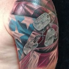 It is really one of the greatest acts of patriotism to get a tattoo of the American flag on any part of your body. There are a variety of reasons for getting American flag tattoos…