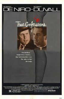 Find more movies like True Confessions to watch, Latest True Confessions Trailer, A worldly ambitious monsignor clashes with his older brother, a cynical Los Angeles homicide detective who is investigating the brutal murder of a young prostitute. Robert Duvall, Movies To Watch, Good Movies, Movies 2014, Jeanette Nolan, Cyril Cusack, Cinema Posters, Movie Posters, Film Poster