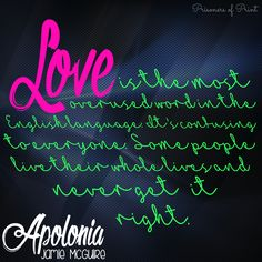 Apolonia by Jamie McGuire