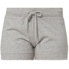 Champion Shorts ($18) ❤ liked on Polyvore featuring shorts, bottoms, pants, pajamas and grey