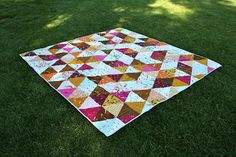 Patchwork Notes: My Precious Triangles and a link for a triangle tool!