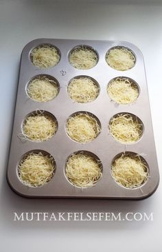 Muffin Kadayif Tatlisi   MUTFAK FELSEFEM