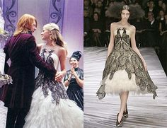 Harry Potter Wedding Dress on Fleur Delacour Inspired by Alexander McQueen?