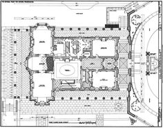 Kykuit, First Floor Plan, known also as the John D. Rockefeller Estate, is a 40-room National Trust house in Westchester County, New York, built by order of oil tycoon, capitalist and Rockefeller family patriarch John D. Rockefeller.