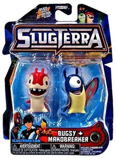 slugterra mini figure 2 pack burpy v1 joules includes code for exclusive game items by. Black Bedroom Furniture Sets. Home Design Ideas