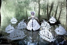 Wonderland: The Story Behind Beauty's Fairy Tale Portraits | Beautylish