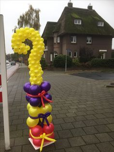 Info Board, Balloon Columns