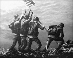 Raising The Flag On Iwo Jima HD Wallpaper | Wallpapers | Pinterest