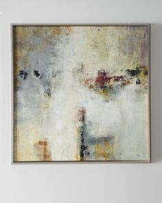 """""""Connectivity"""" Framed Abstract at Horchow."""