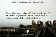 Introducing 365 Days of Writing Prompts - The Daily Post
