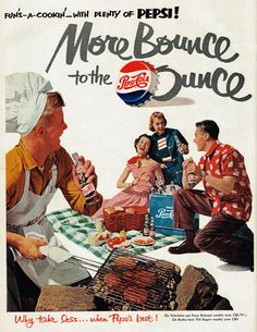 """More Bounce to the Ounce"" Pepsi-Cola, 1951"