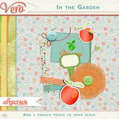 Vero | May Digiscrap parade freebies ! In the garden : Grab 2 complementary parts here ! iNSD Madness
