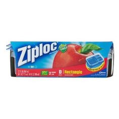 Ziploc Container Divided Rectangle