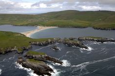 St. Ninan's Isle, Shetland