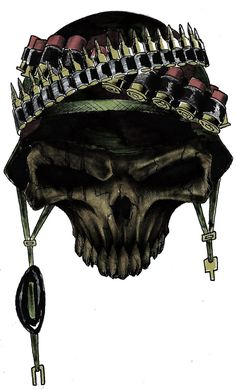 war skull by ~yacobucci on deviantART