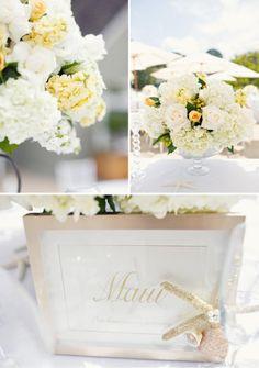A wonderful inspirational site - will enjoy checking this one out - http://www.greylikesweddings.com/1-real-weddings/color-real-weddings/grey/beach-glam-rethinking-nautical-weddings/