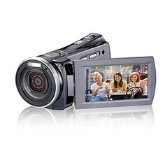 1280*720P 5.0MP HD DV Camcorder (Touchscreen, Motion Detection, 12.0 MP Enhanced, 5 x Zoom Lens) – EUR € 148.49