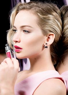 Jennifer Lawrence for DIOR Addict Ultra Gloss
