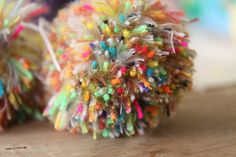Pompon - like the mix of colors