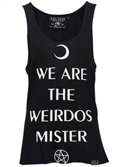 """We are the Weirdos, Mister"" The Craft Gothic Vest Dress by KillStar"