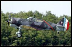 Curtiss H-75A-1 Hawk, Meeting de la Ferte-Alais 2006.