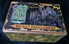 Old Vintage Walt Disney World The Haunted Mansion Secret Panel Chest Puzzle Box #Disney