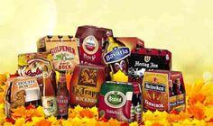 Een selectie van de herfstbieren die je bij Sjarel krijgt!