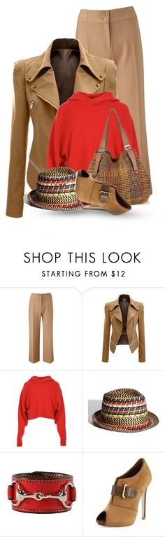 """""""Weekend Casual"""" by flowerchild805 ❤ liked on Polyvore featuring CC, TIBI, Steve Madden, Jimmy Choo, Rebecca Ray Designs and René Caovilla"""